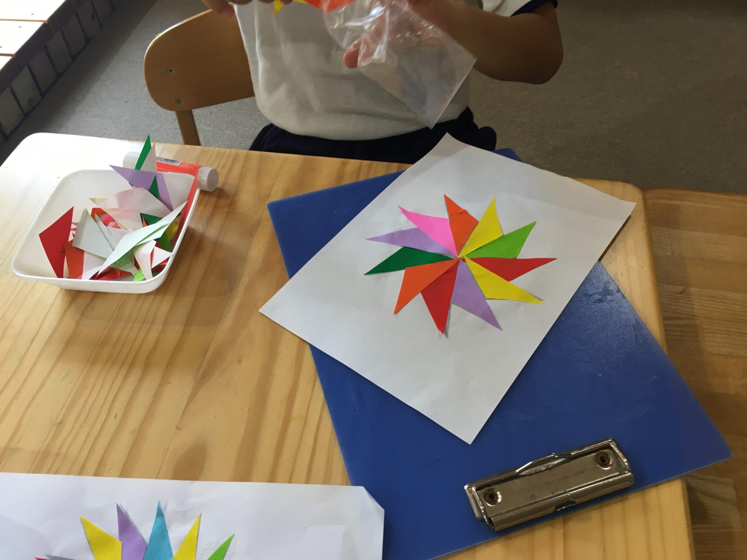 三角形のお仕事